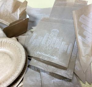 sacchetti antigrasso , coni per fritti , prendi pizza /piadina , scatole patatine fritte