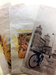 sacchetti per il pane stampe generiche